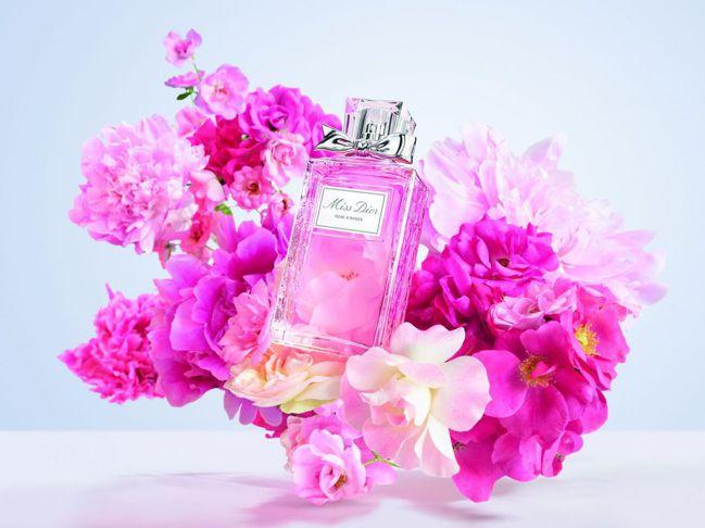 Miss Dior 漫舞玫瑰親吻淡香水。 圖/Talter Taiwan提供