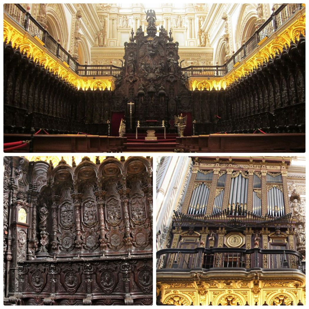 主教堂和清真寺敬拜的方式不同,清真寺席地而坐,沒有雕像只有刻在牆上的經文,也沒有樂器伴隨的詩歌聲只有祈禱聲;主教堂卻有聖人的雕像,既有坐椅還有震撼人心的管風琴樂聲。
