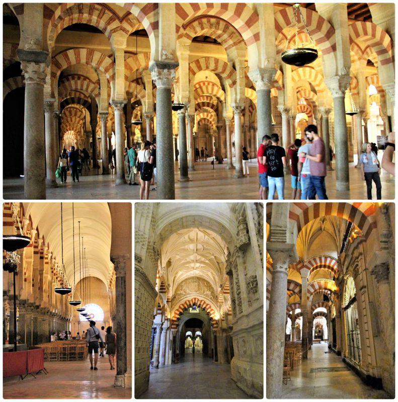 不同時期的迴廊,這個清真寺大教堂有太多的風貌和獨特的藝術價值,難怪被列入為世界遺產的名錄之中。