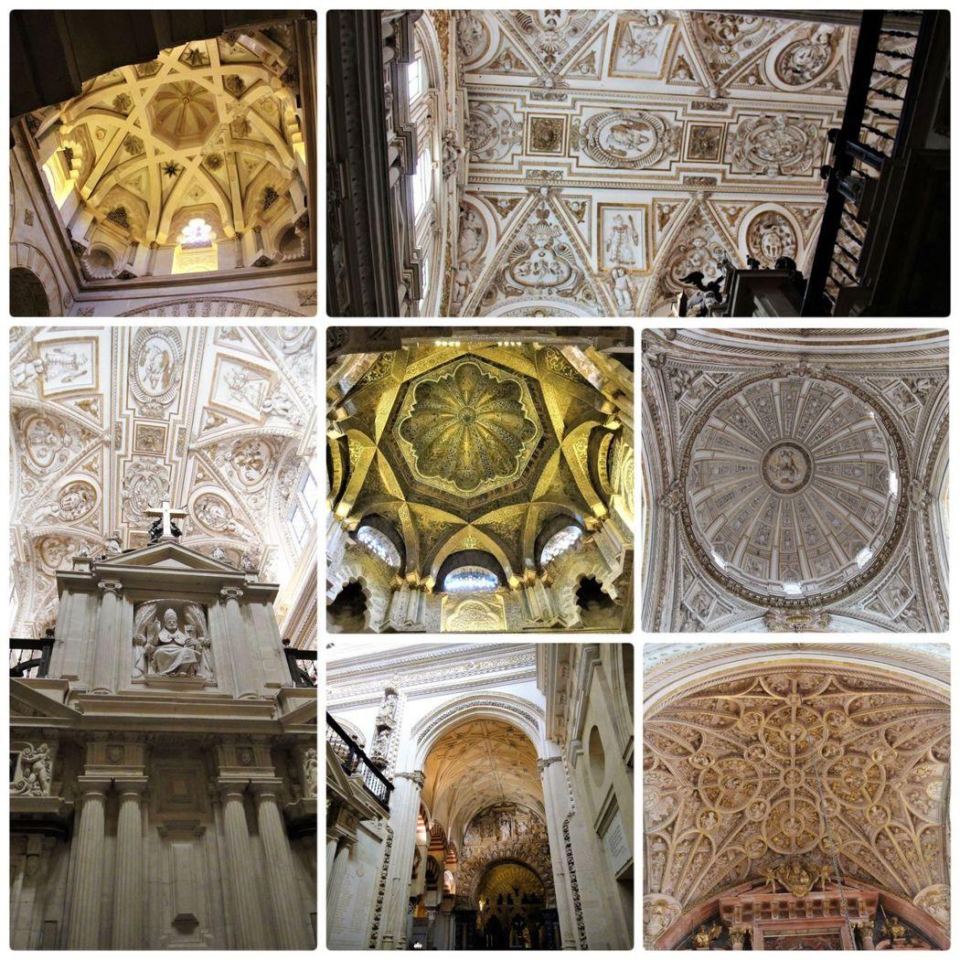 看到這些雕刻精細的拱型天花板,總覺得古代的人,手工的藝術創作似乎優於現代的人。