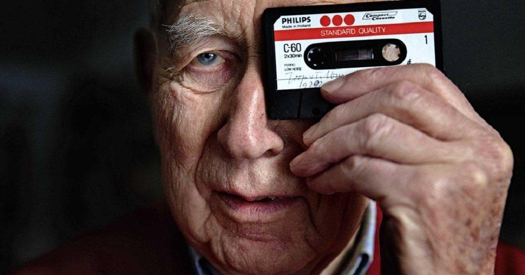 卡式錄音帶發明人、荷蘭工程師奧騰斯(Lou Ottens)6日於德伊澤爾(Dui...