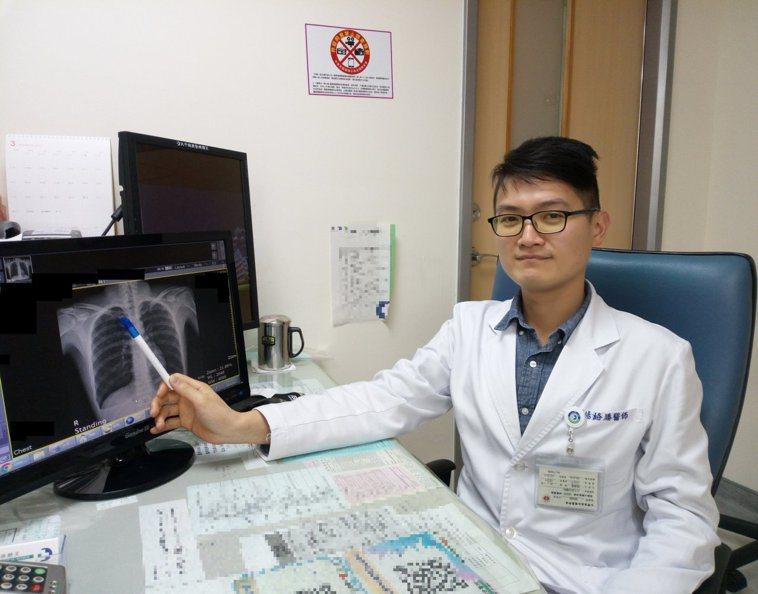 楊絡勝醫師表示,有氣胸復發經驗的病人,建議接受手術處理,以防下次發生時可能造成嚴...