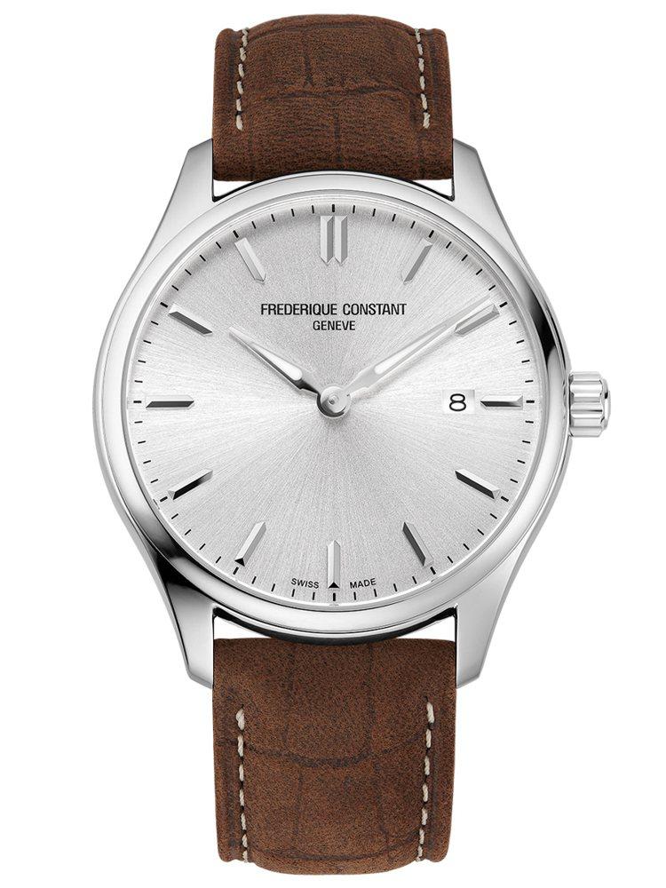 康斯登,百年經典Classic石英腕錶,精鋼、40毫米、時間與日期顯示,19,8...