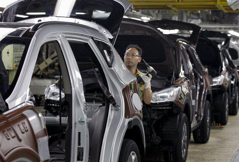 南韓政府大舉投資車用晶片。路透