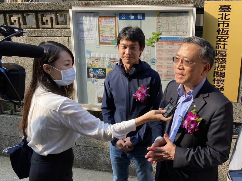 蔡炳坤表示,目前北市已有20個慈悲關懷社區,未來希望每個行政區能有1至3個關懷社區。記者潘才鉉/攝影