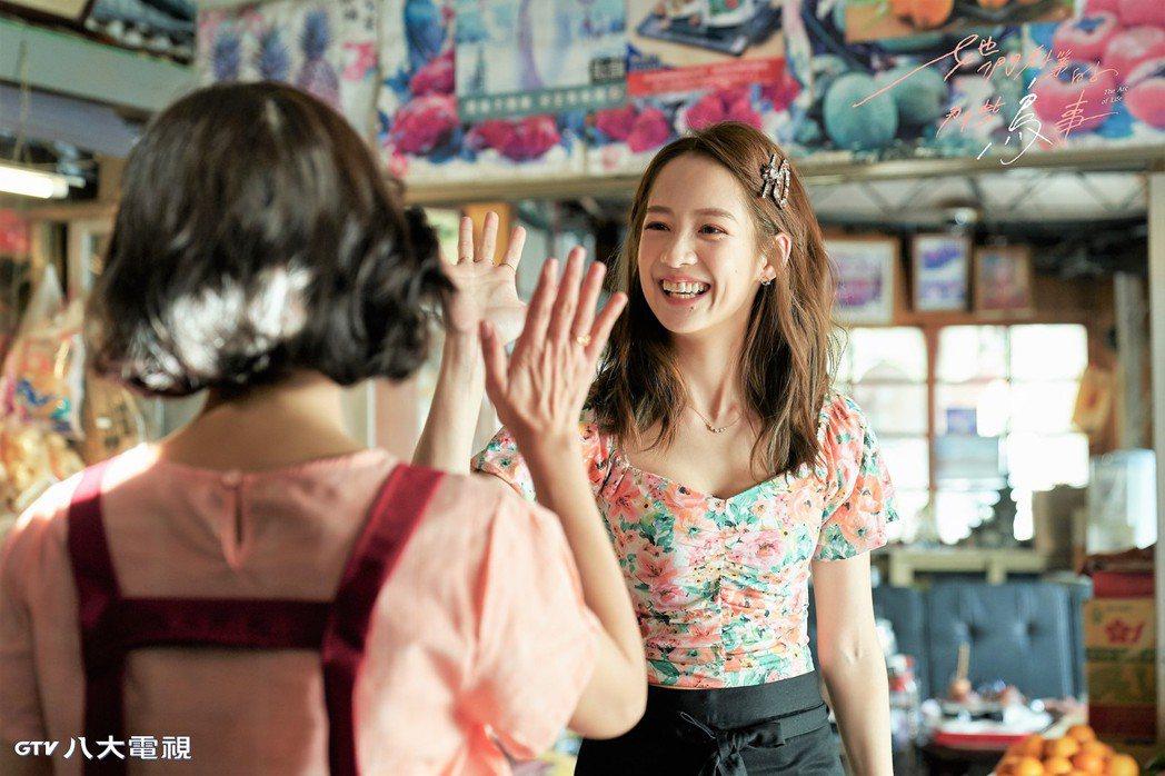 簡嫚書飾演「林美季」一角受到討論。圖/可米傳媒提供