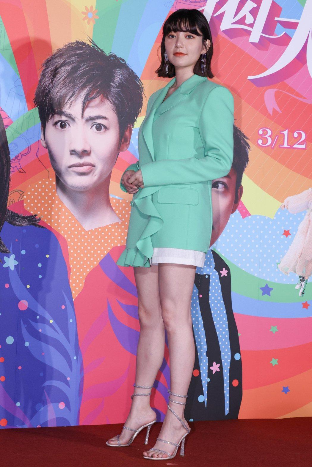 郭雪芙出席「揭大歡喜」首映。記者沈昱嘉/攝影