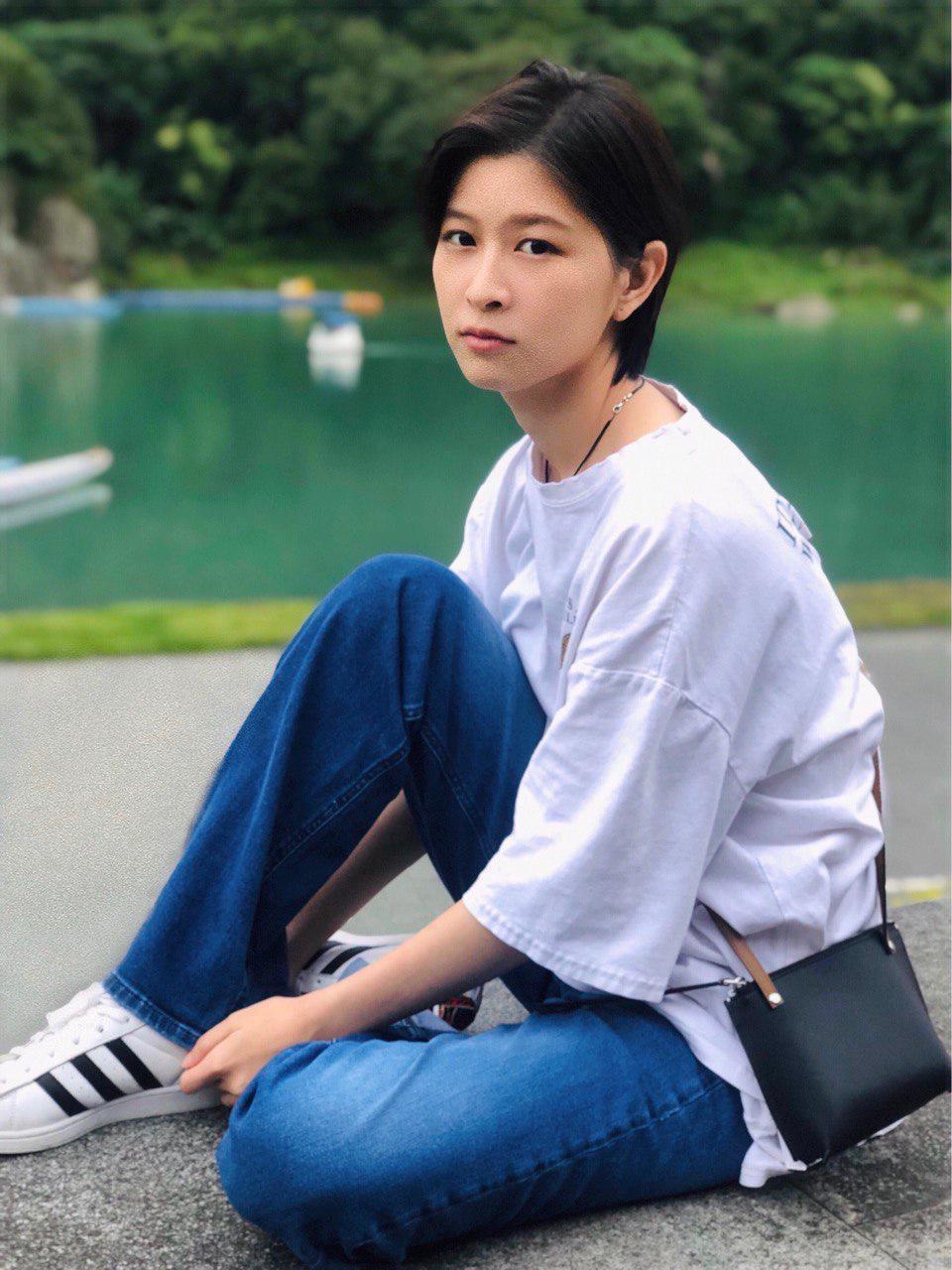 江宜蓉回歸「植劇場2」的「Studio Q表演教室」上課充電。圖/真心人電影提供