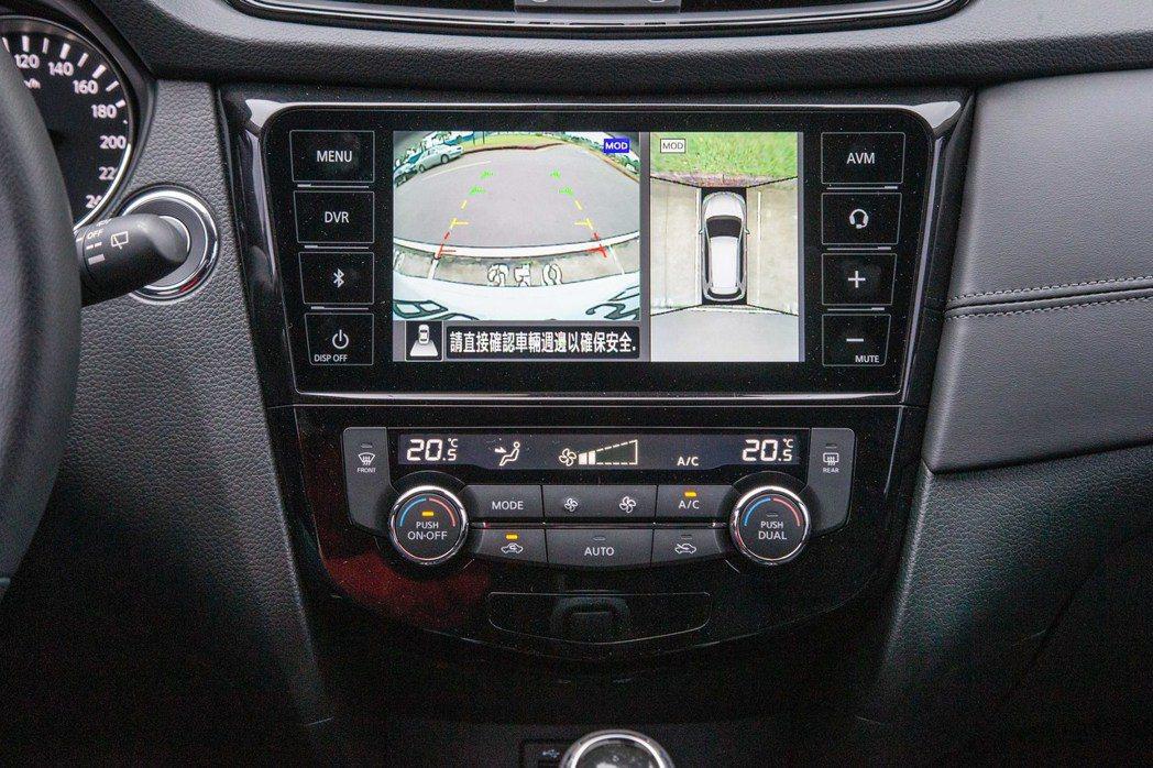 AVM 360°環景影像行車輔助系統 記者陳立凱/攝影