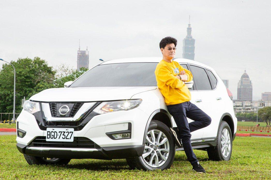 資深演員王中皇私底下是Nissan X-Trail車主。 記者陳立凱/攝影