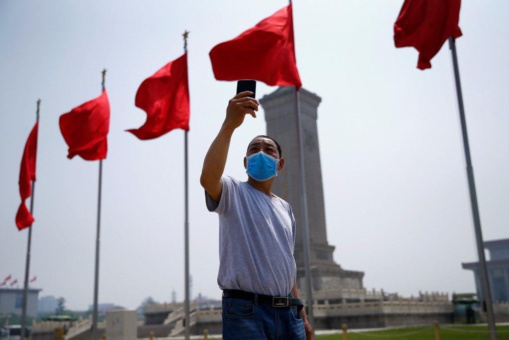 攝於2020年5月,北京。 圖/路透社