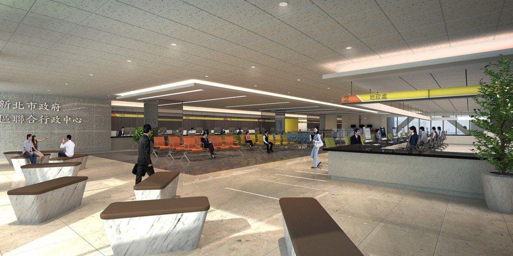 「冠德市政廳」垂直整合新店區多個行政機關,公家機關進駐高達七成五,人流支撐穩定的...