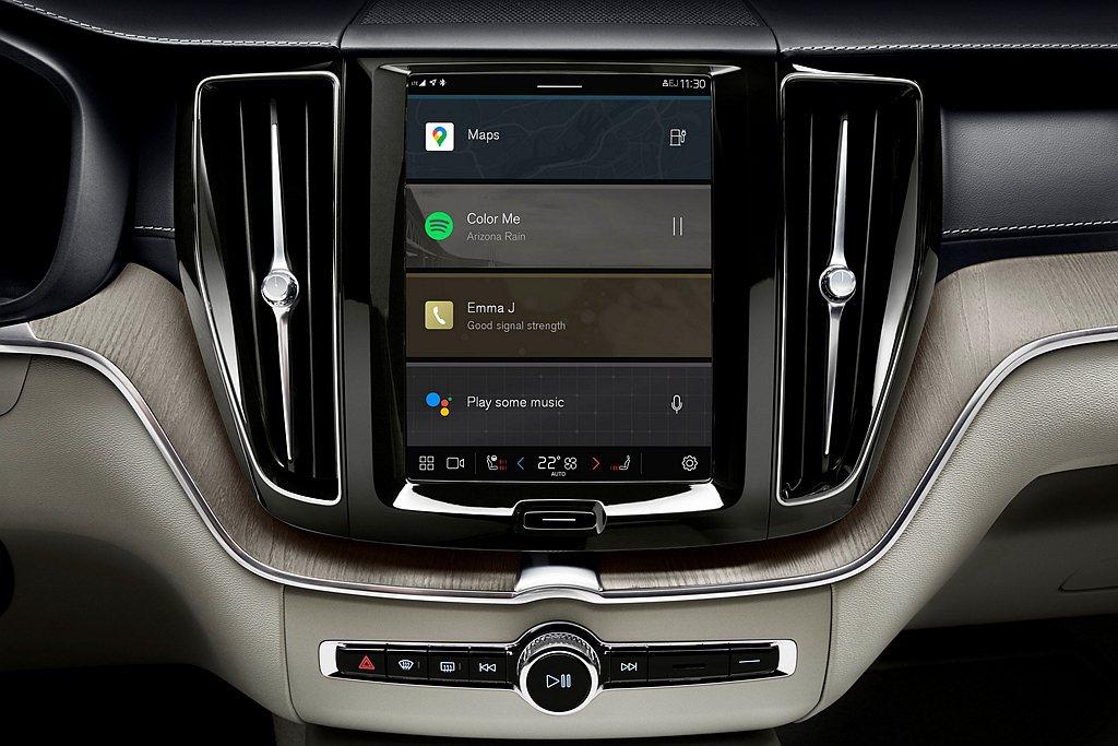 Google首款採用Android(安卓)的車載多媒體系統,已經先搭載於Volv...
