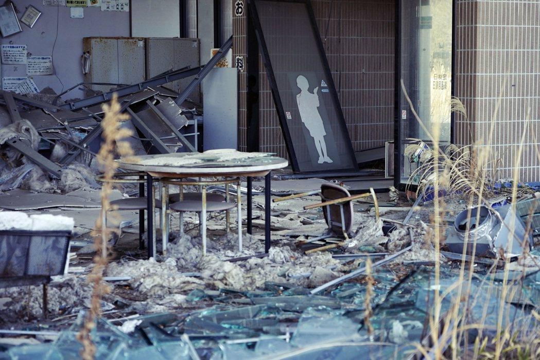 「靈就存在於離人們很近的地方。」圖為2021年拍攝的福島縣雙葉郡富岡町,福島第二...