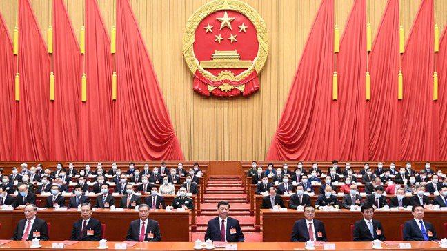 中國大陸全國人民代表大會11日在北京舉行閉幕會議。圖/新華社