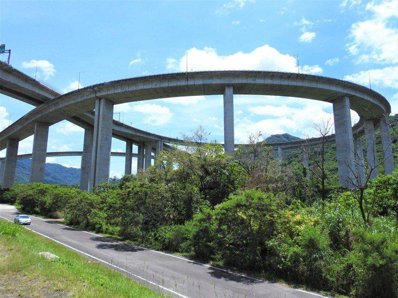 南投縣國道6號「橋聳雲天」景點7天有2人墜橋輕生。本報資料照片 賴香珊