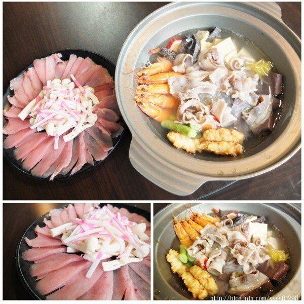 採用當季新鮮漁貨,剛好11月~3月是黑鮪魚季,也因此這次吃到的是黑鮪魚片,稍微入鍋涮個幾下,就能吃進嘴裡感受尚青ㄟ海鮮滋味,魚肉肉質鮮美,毫無腥味,太正點了啦!