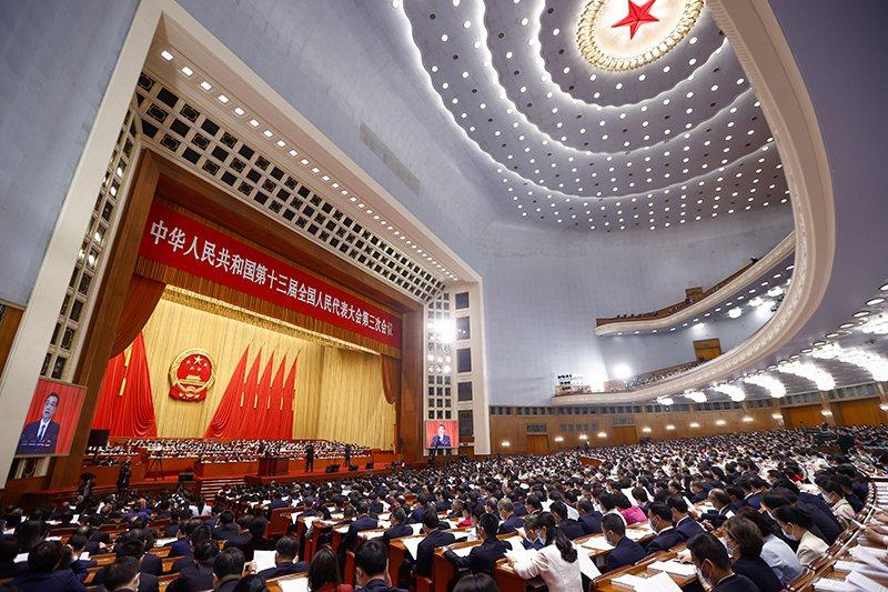 國民黨前副秘書長張榮恭觀察到,中共多次在表述兩岸統一目標時,使用「祖國統一」字眼,不再使用「和平統一」的表述。圖/取自中國政府網