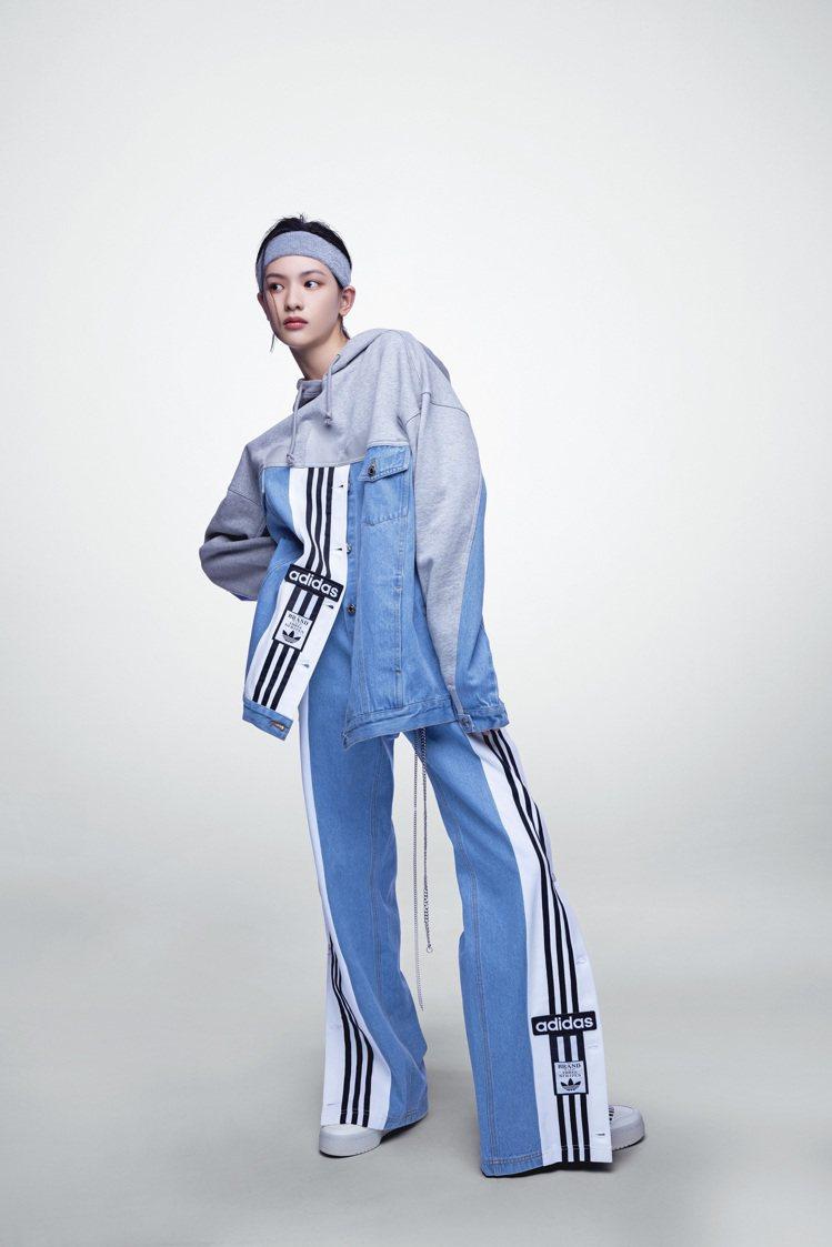 adidas Originals x DRY CLEAN ONLY聯名系列丹寧拼...