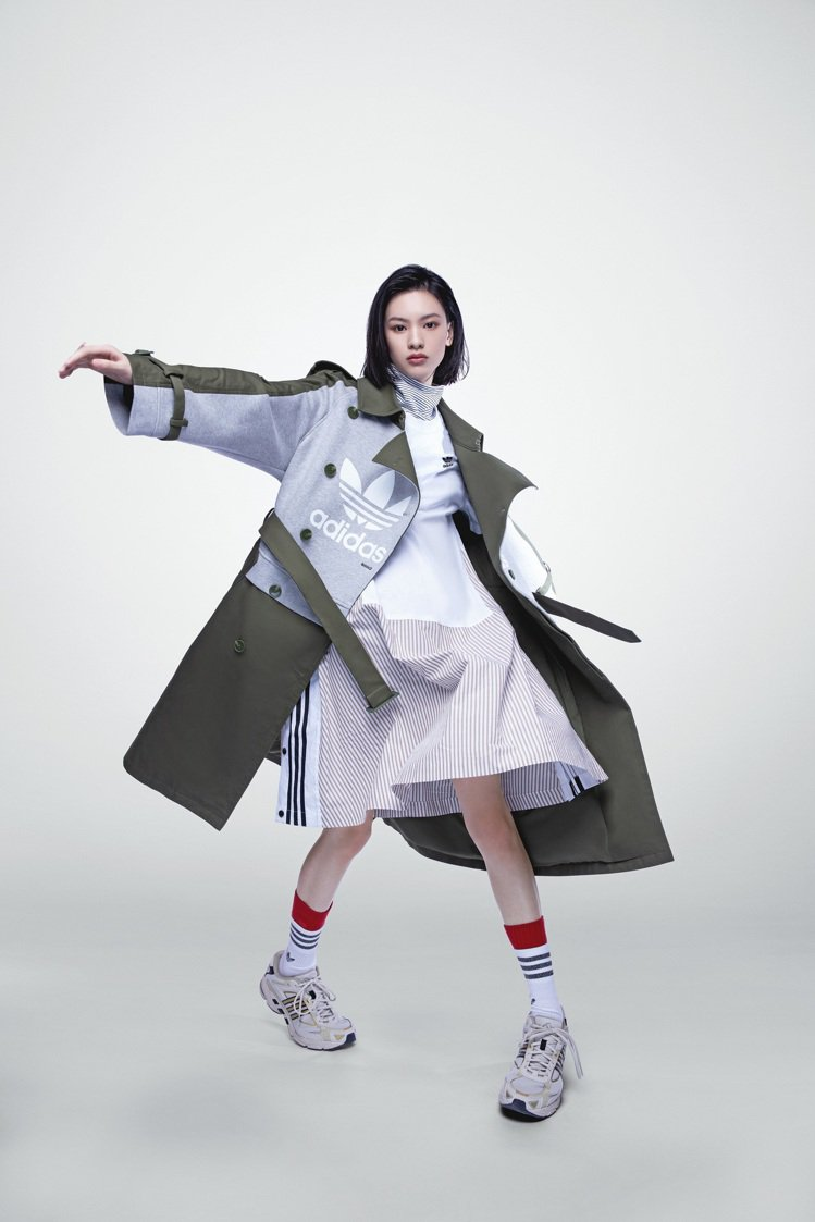 adidas Originals x DRY CLEAN ONLY聯名系列拼接風...