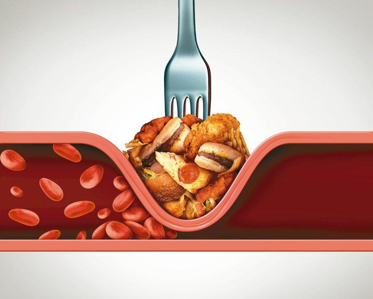 現代人久坐不動,加上飲食無節制,年紀輕輕就處於高血脂、高血壓與高血糖風險中。圖/...