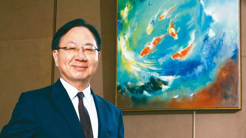華南銀行總經理張振芳。華銀/提供