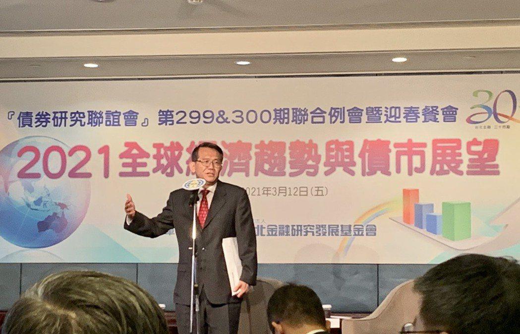 台北金融研究發展基金會董事長周吳添。記者沈婉玉/攝影