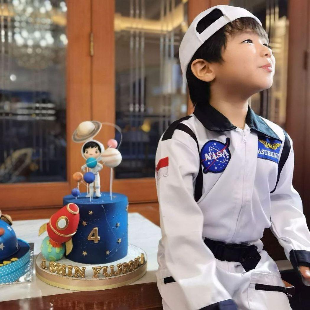 藤岡靛小兒子已經4歲了。圖/擷自IG