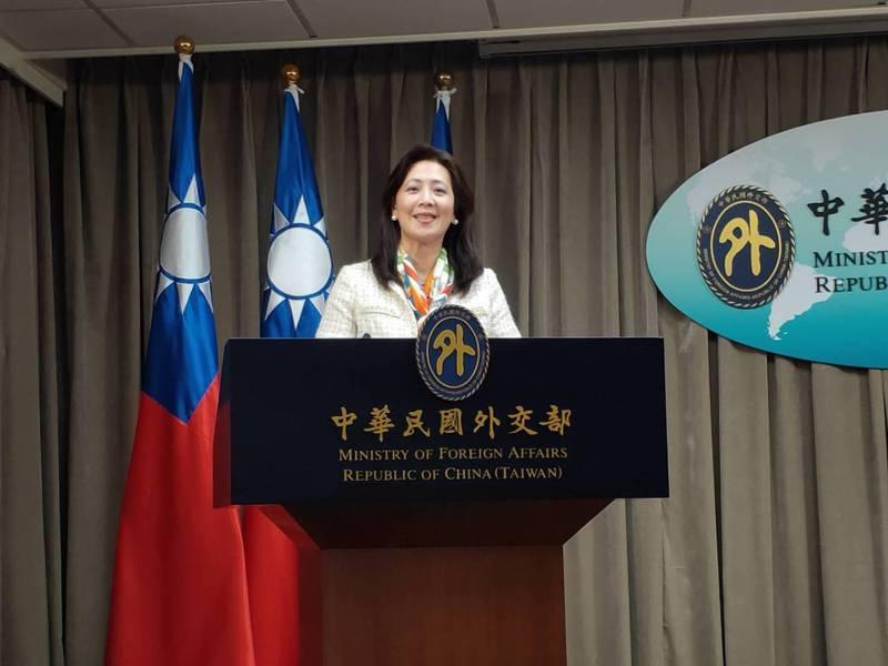 外交部發言人歐江安。 報系資料照/記者徐偉真攝影