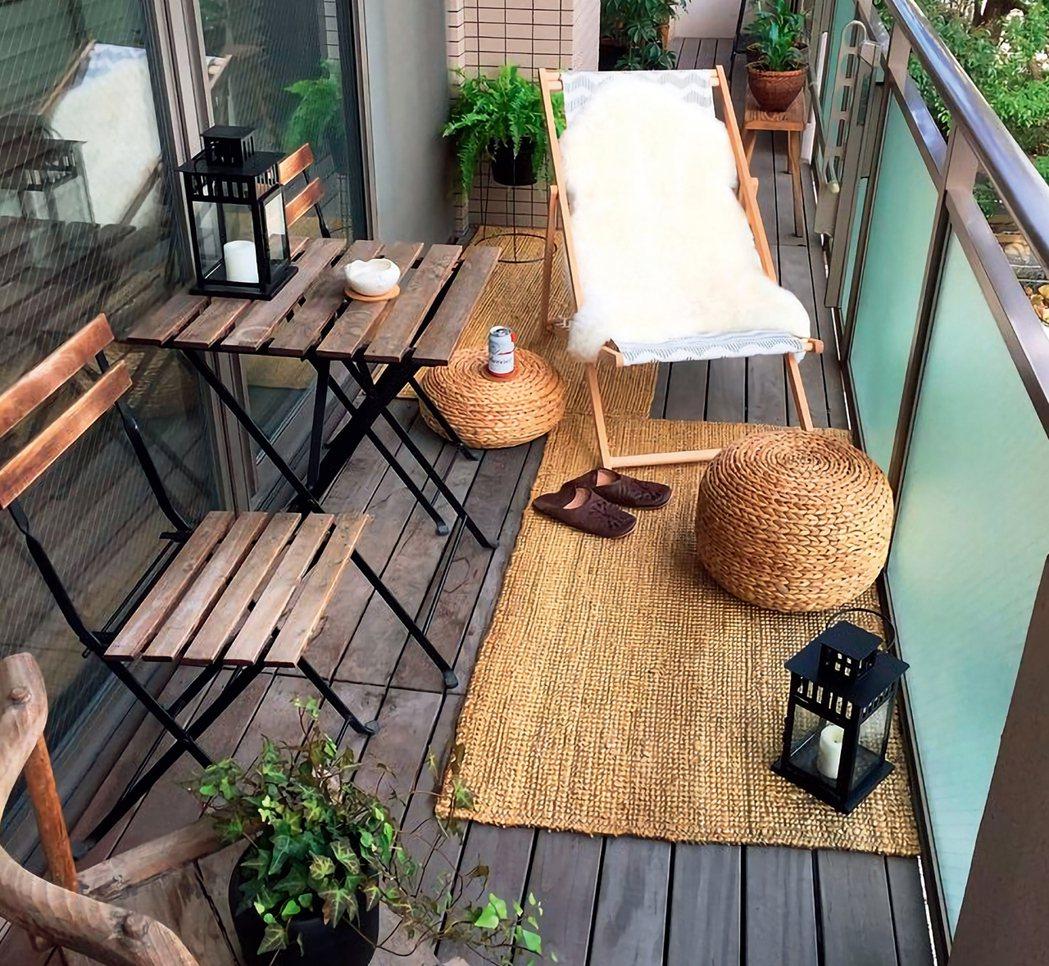 地毯可緩解地磚的高冷感。 圖/台灣廣廈授權使用