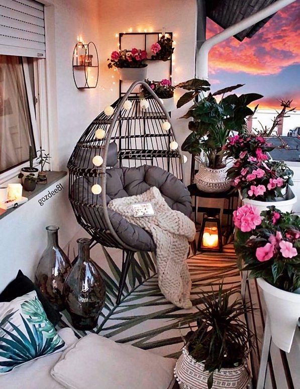 燈串也能做為增加氣氛的裝飾品唷! 圖/台灣廣廈授權使用