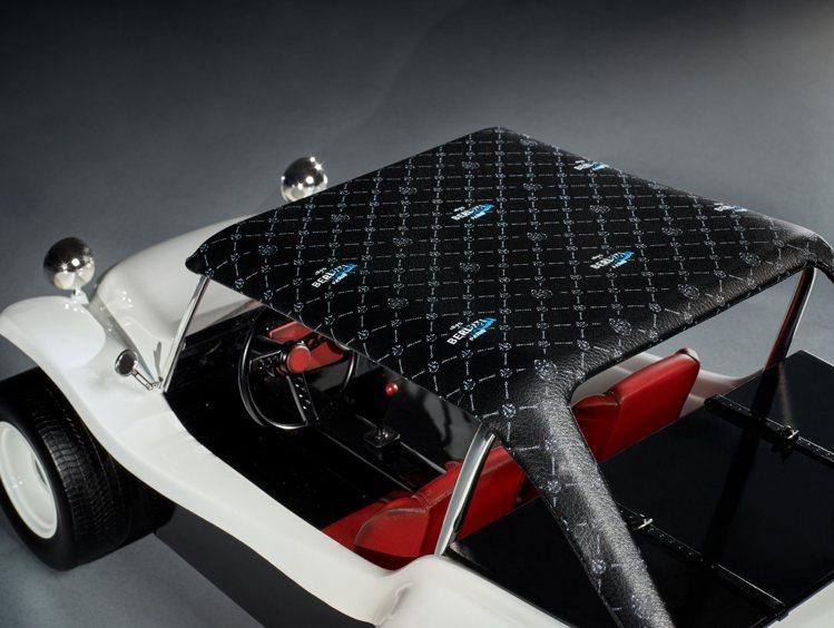 風火輪小汽車是2020年製作發表的Berluti沙灘越野車。圖/Berluti提...