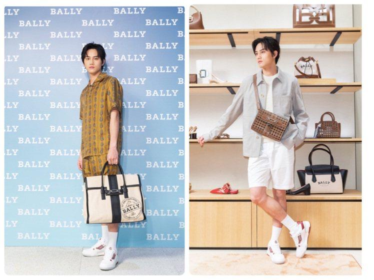 范少勳出席BALLY春夏發表。圖/BALLY提供