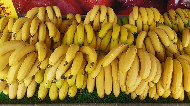 香蕉示意圖。本報資料照片