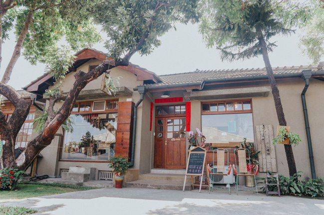 勝利星村獨棟獨院,很有特色。記者吳致碩/攝影
