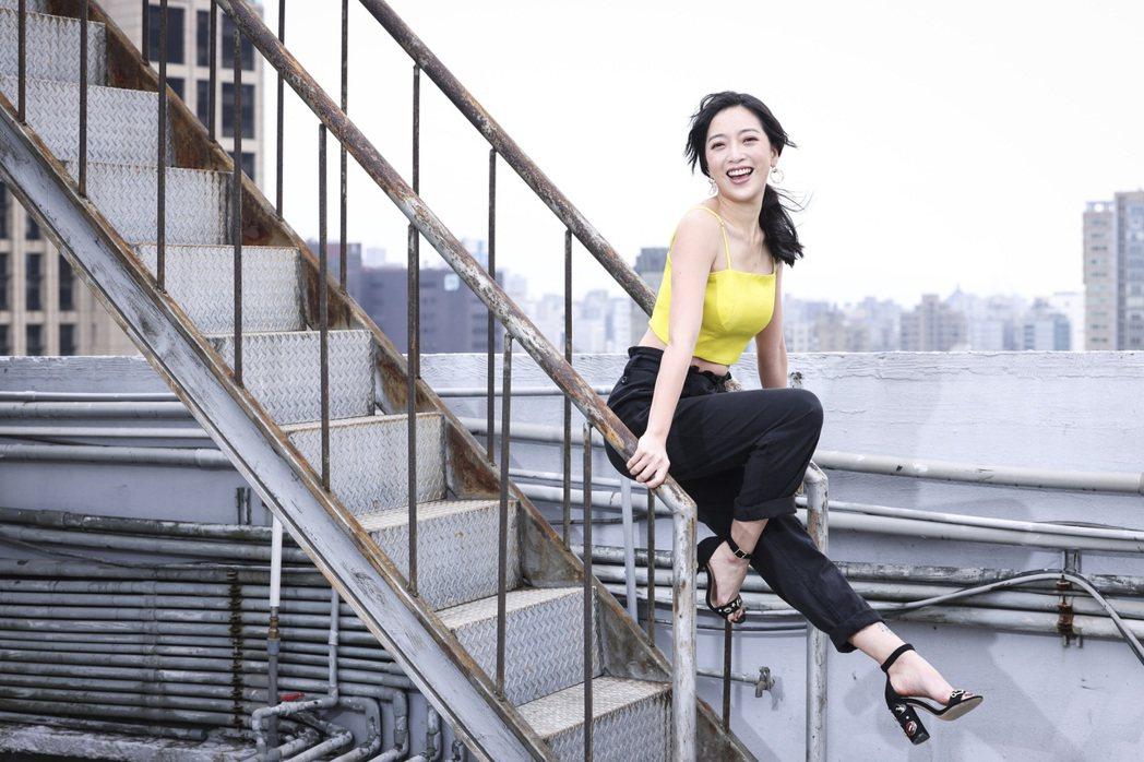 貝童彤即將美美當新娘。記者王聰賢/攝影