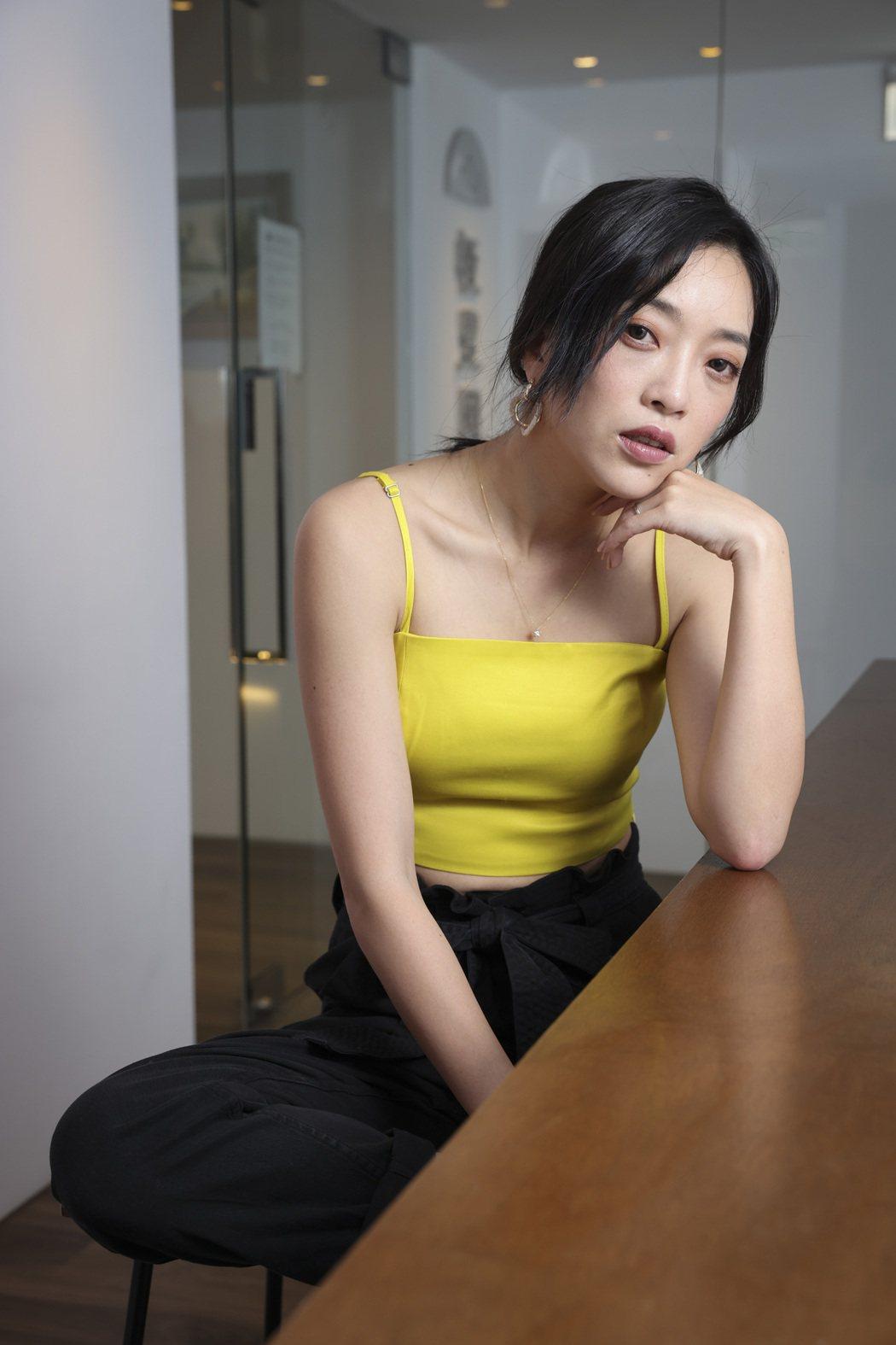 貝童彤過去從黑澀會妹妹出身。記者王聰賢/攝影