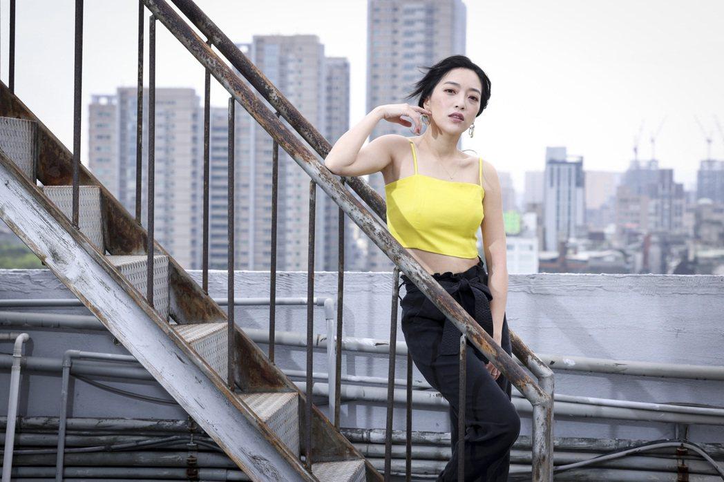 貝童彤21日將當最美新娘。記者王聰賢/攝影