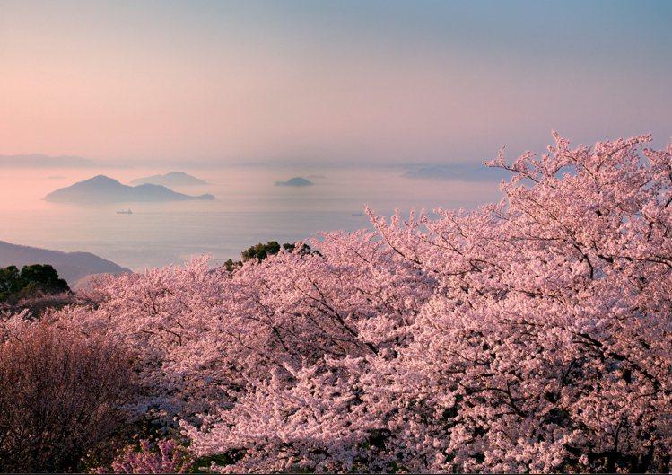 紫雲出山。圖/香川縣提供提供