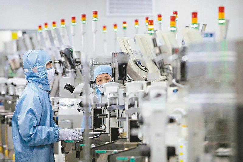 中共「十四五規劃」重心是科技自主,在美國科技封鎖下尋求突破。(美聯社)