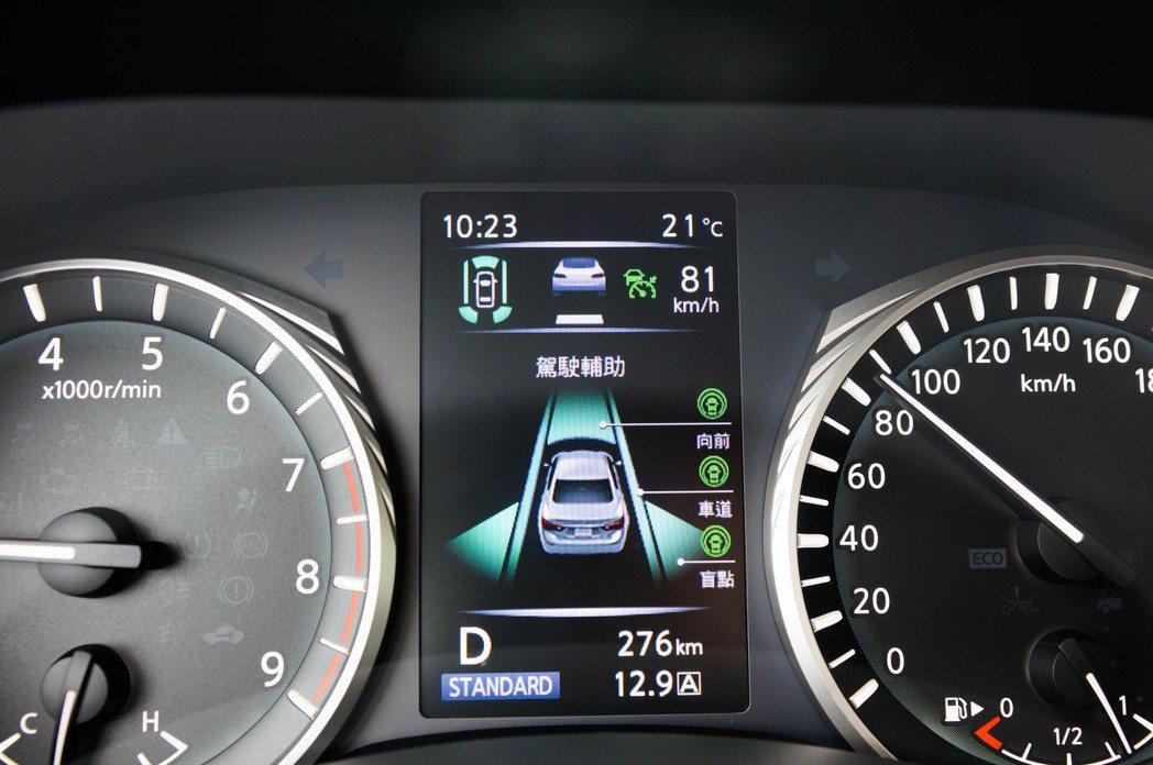 一鍵啟動滿滿的ProACTIVE智慧駕駛科技相當的方便就手。 記者趙駿宏/攝影