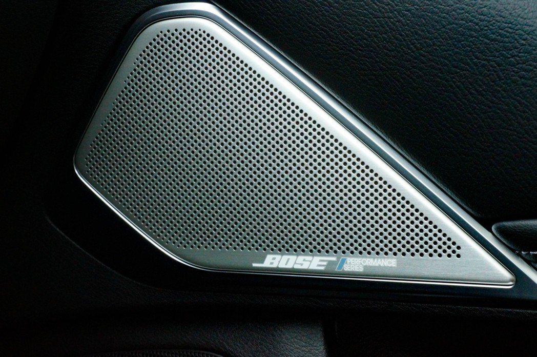 BOSE Performance音響也有ANC主動降噪控制技術,讓車室隔音質感提...