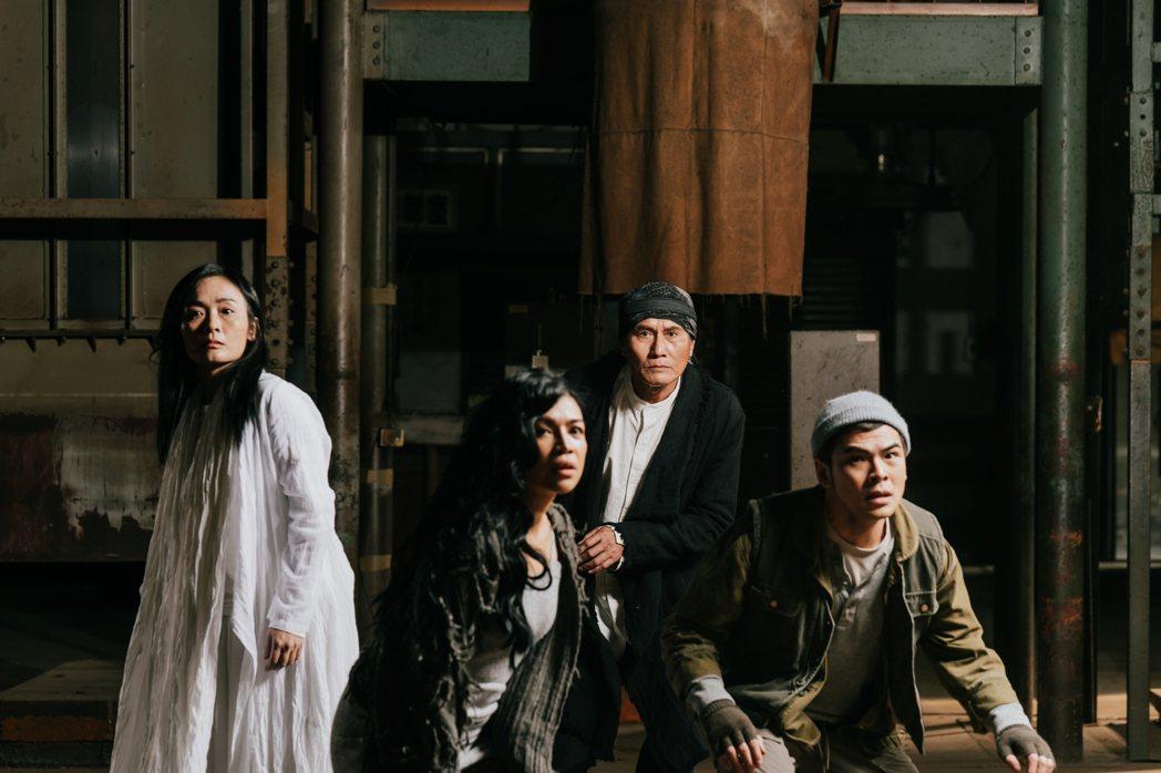 《複眼人》劇場版在臺中國家歌劇院、臺北表演藝術中心合作下,將於今年4月24、25...