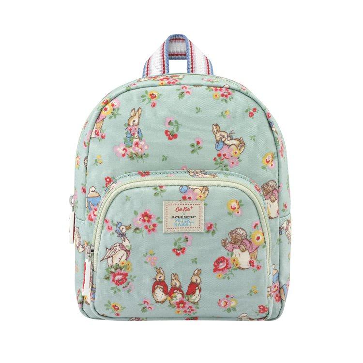 小童經典款防潑水後背包,1,580元。圖/Cath Kidston提供