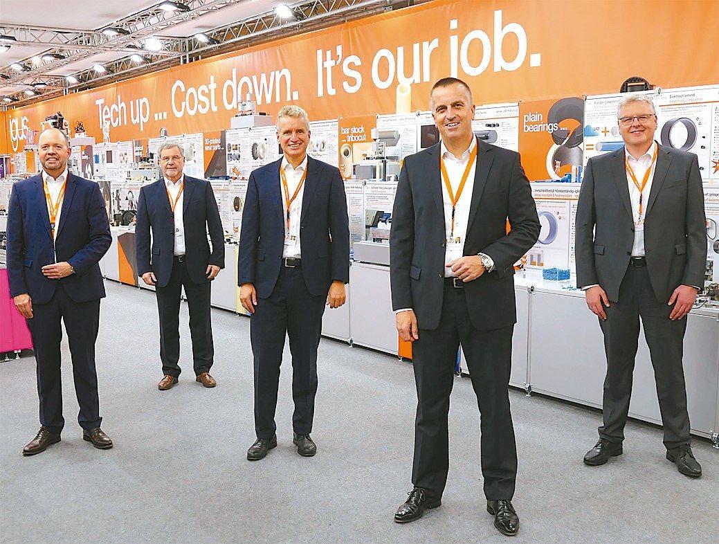 2021台北國際工具機TIMTOS線上展期間,易格斯動態工程塑膠展同步開展。德...