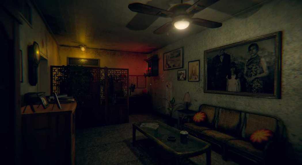 遊戲中的杜家客廳