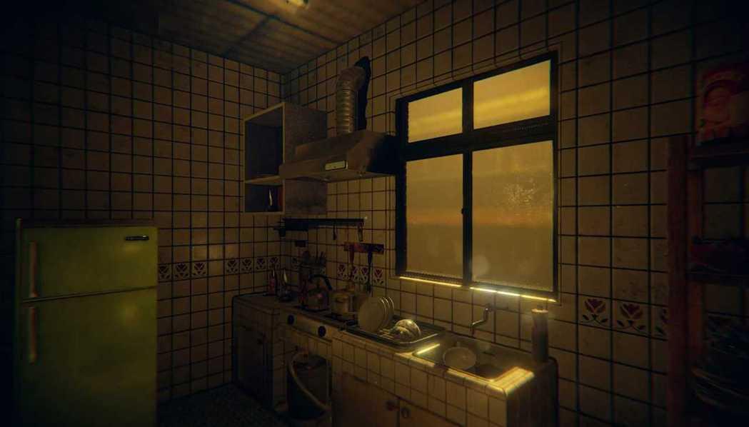 熟悉的廚房...