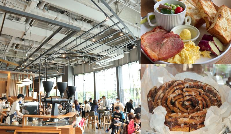 「coppii lumii living coffee 」咖啡廳,把精緻餐點與生活空間融入一體,尤其「180度大片玻璃採光」與晨間一杯熱咖啡的完美契合,常常假日人滿為患。 圖/旅遊美食特約萊點特別攝影