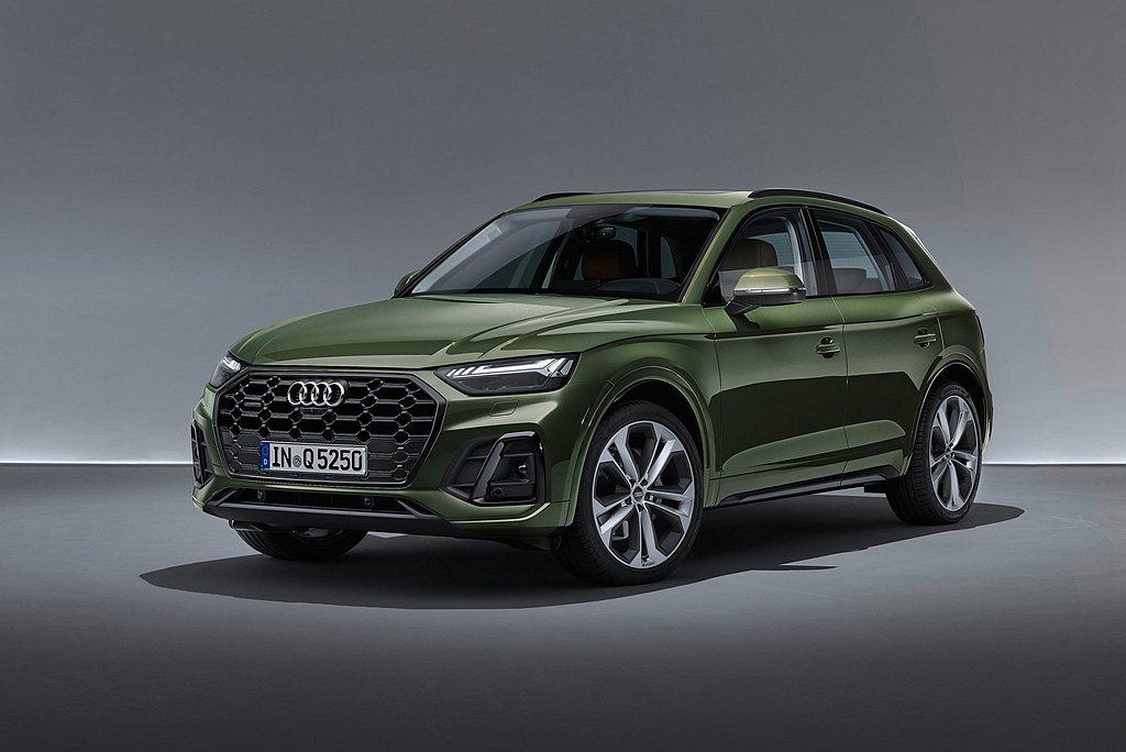 小改款Audi Q5自3月20日(六)起將進駐全台Audi展示中心。 圖/Aud...