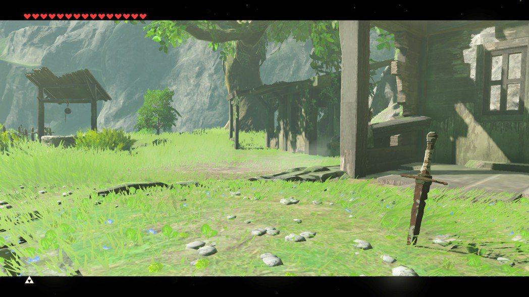 《曠野之息》Speedrun玩家Peco也拍攝了一系列第一視角照片/圖片截自Tw...